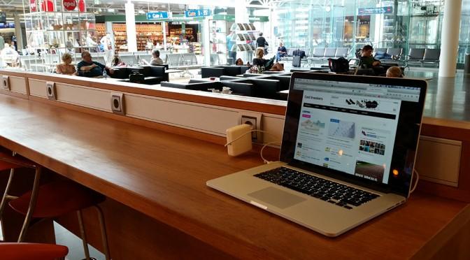 Gratis wifi internet i Keflavik lufthavn