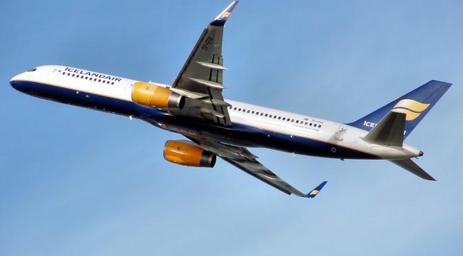 Internet ombord på fly til Island